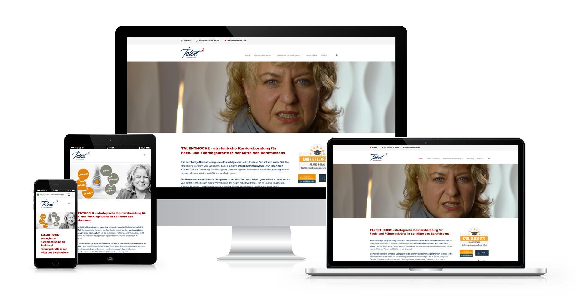Kundenreferenz: talenthochzwei, Christina Georgsson