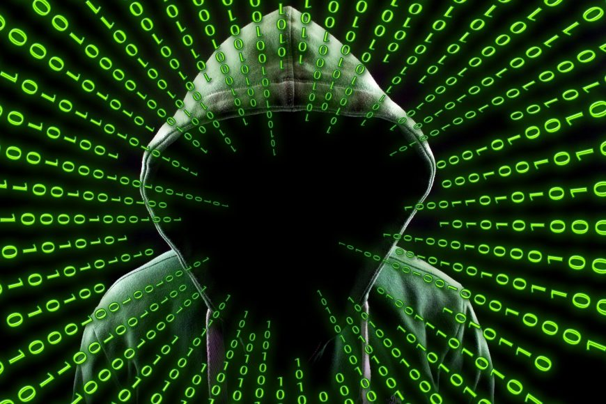 Hacker im Internet