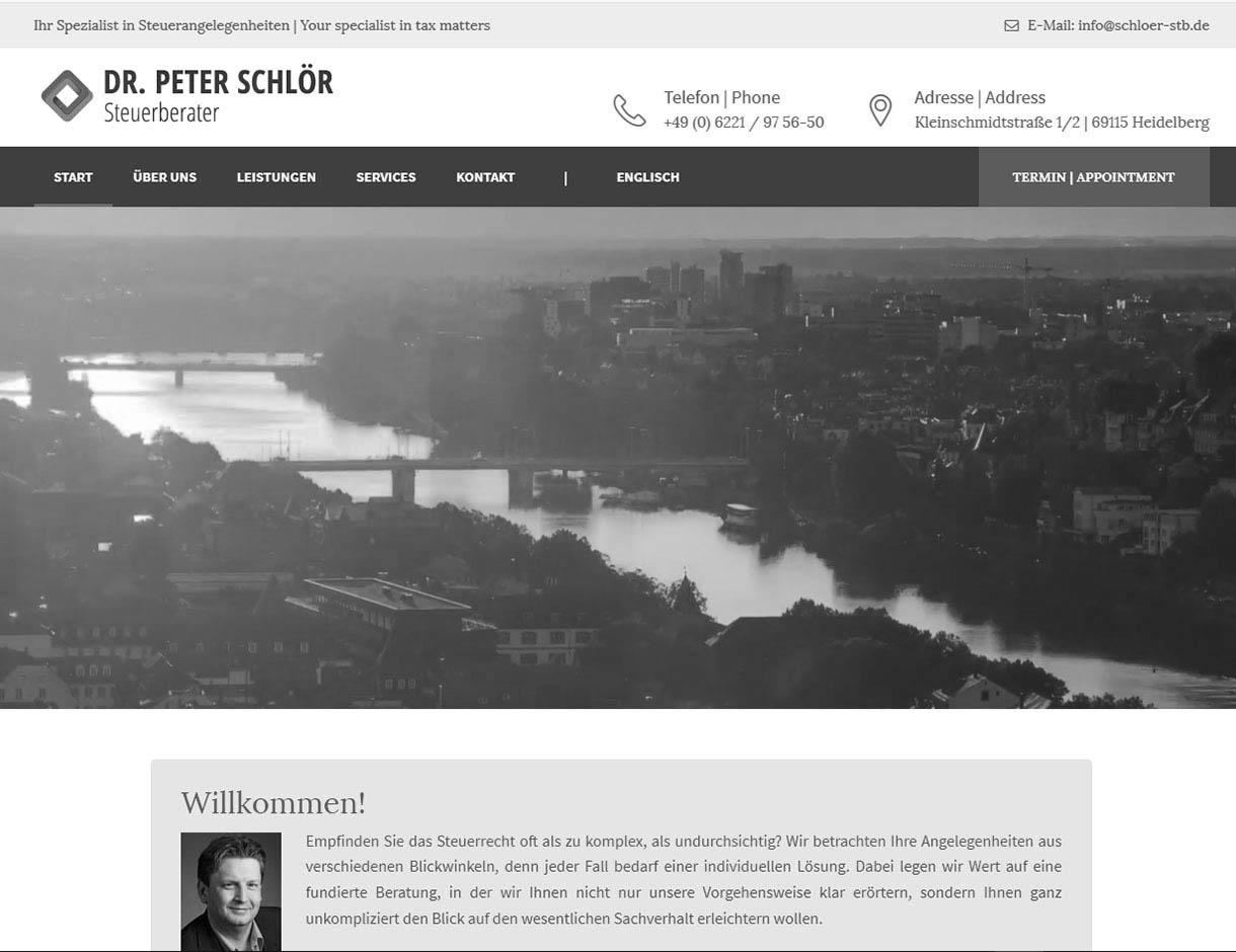 Referenzen: Steuerberater Dr. Peter-Schloer